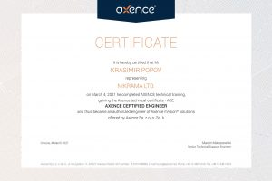 Krasimir_Popov_Axence-certyfikat-ACE